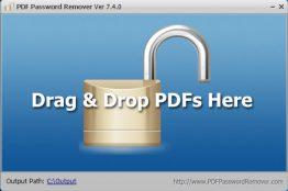 【PDF檔案保護刪除PDF限制】PDF Password Remover v7.4.0 解密軟體
